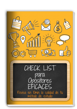 COVER Check List para OPOSITORES (1)